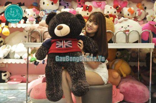 Teddy đen Cờ Anh giá rẻ