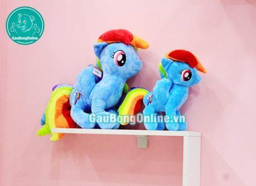 gấu bông ngựa pony