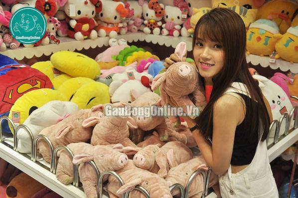 Lợn bông mềm mượt vô đối luôn :))