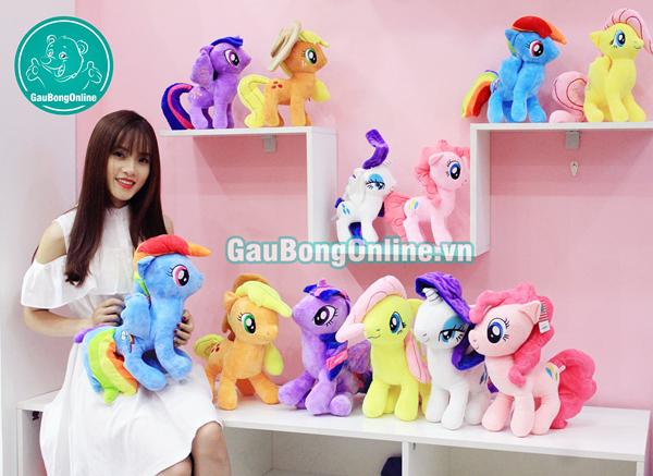 ngựa pony đủ màu sắc
