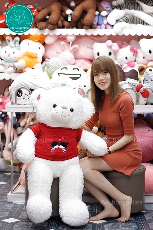 Gấu Áo Kiss Me 1m1