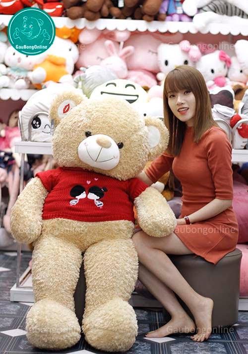 Gấu Áo Kiss Me 1m4