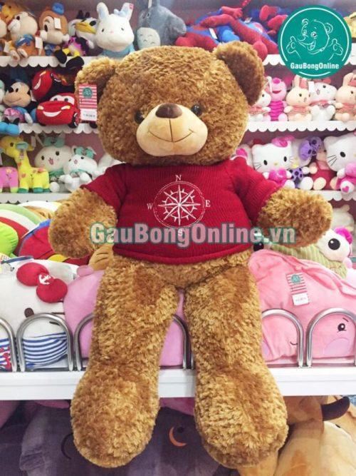 Gấu Teddy 1m2 áo La Bàn