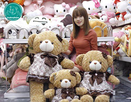 Teddy Váy Nâu