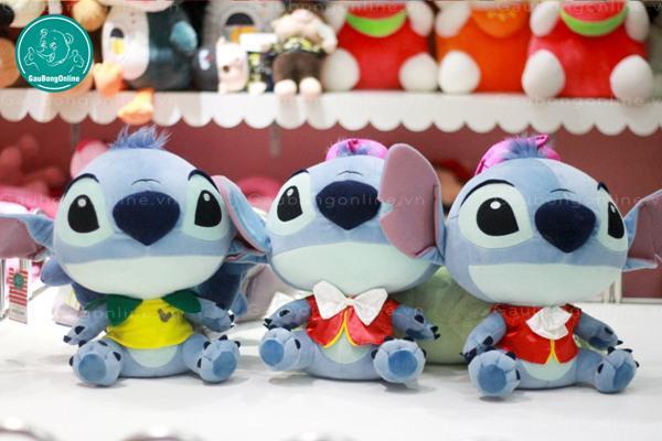 Gấu bông hoạt hình Stitch với những chiếc áo màu sắc nổi bật trông ngộ nghĩnh lạ thường!!