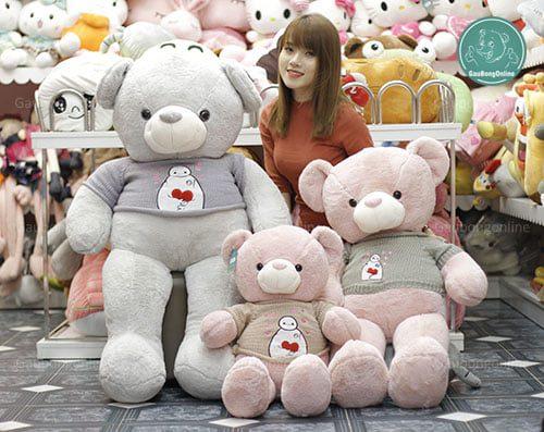 Teddy Áo Baymax