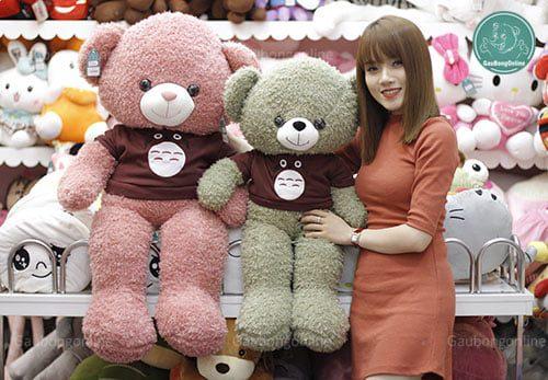 Teddy Áo Len Totoro 1m1 và 80cm