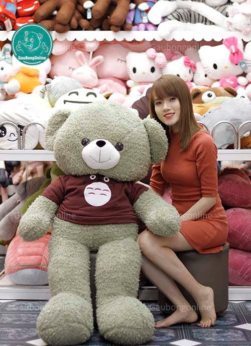 Teddy Áo Len Totoro 1m4