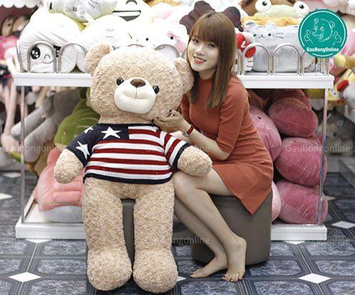 Teddy Áo Len Sao 1m1