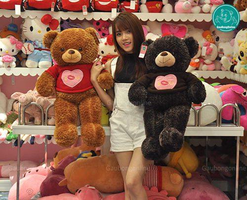 Teddy Áo Love 80cm