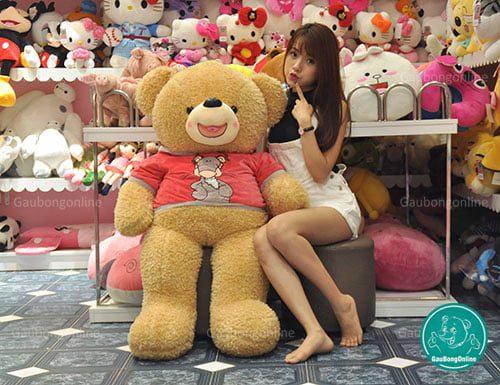 Teddy Áo Nỉ Thú 1m4