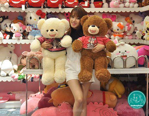 Teddy Áo Nỉ Thú 80cm