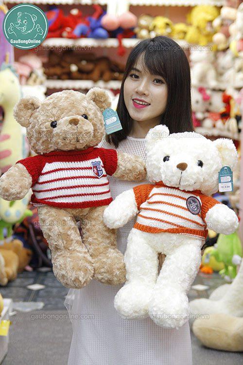 Teddy áo len gấu