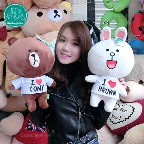 Brown & Cony Áo