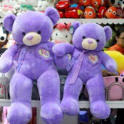 Gấu teddy nơ tim