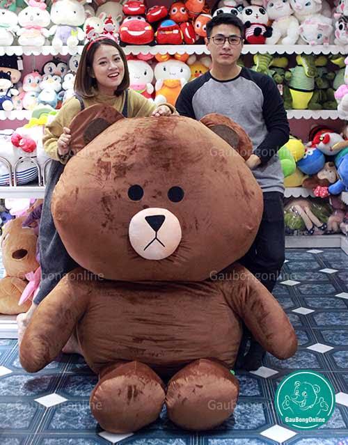 Gấu Brown 2m