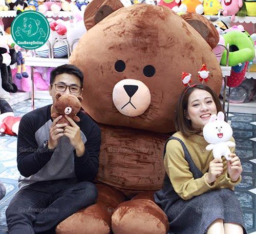 Gấu Brown 2m2