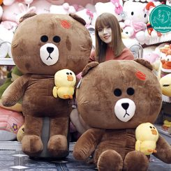 Gấu Brown Ôm Vịt