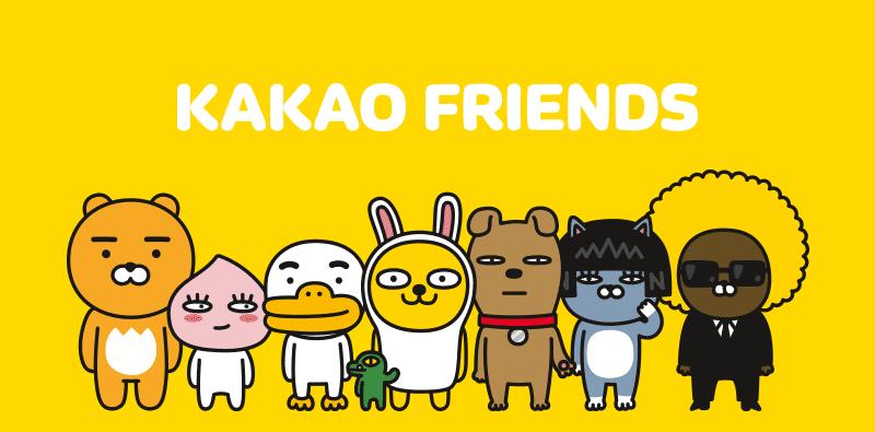 Kết quả hình ảnh cho KakaoTalk friends