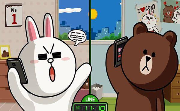 gấu brown và cony