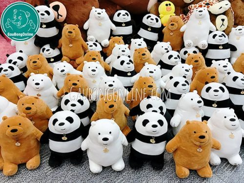 We Bare Bears Bông Đứng