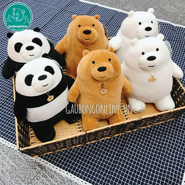 We Bare Bears Bông Đứng