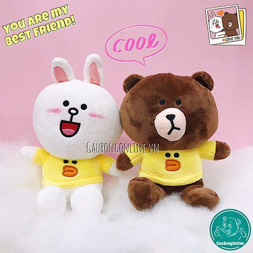 Gấu Brown & Cony Áo Kute