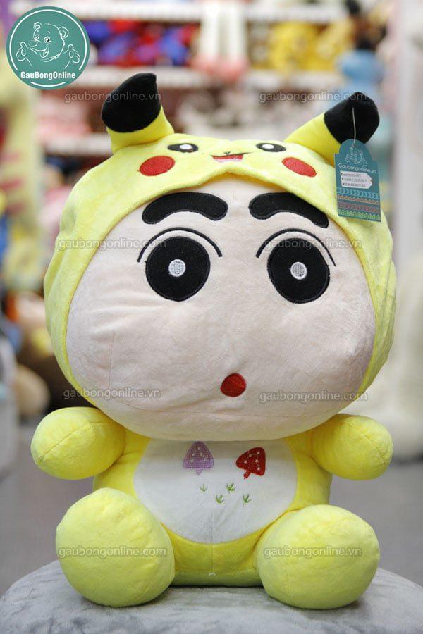 Gấu Shin Pikachu