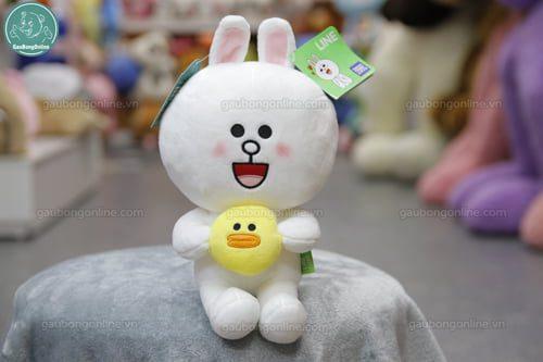 Thỏ cony ôm vịt