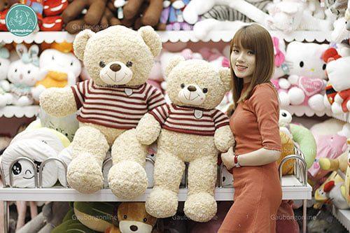 Gấu teddy logo baby