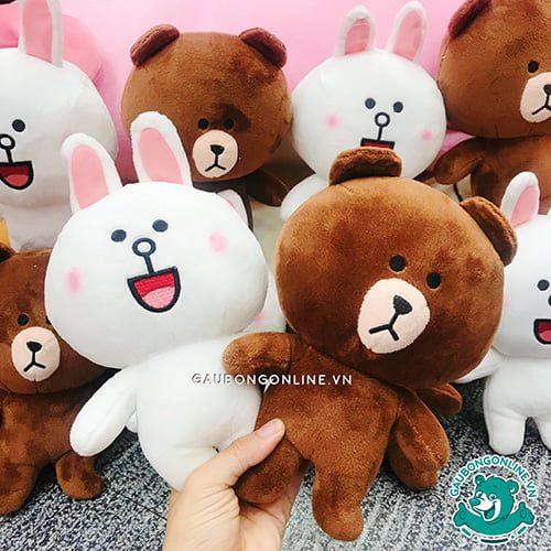 Gấu Brown và Thỏ Cony