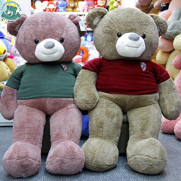 Gấu Bông Teddy Len Chân Gấu