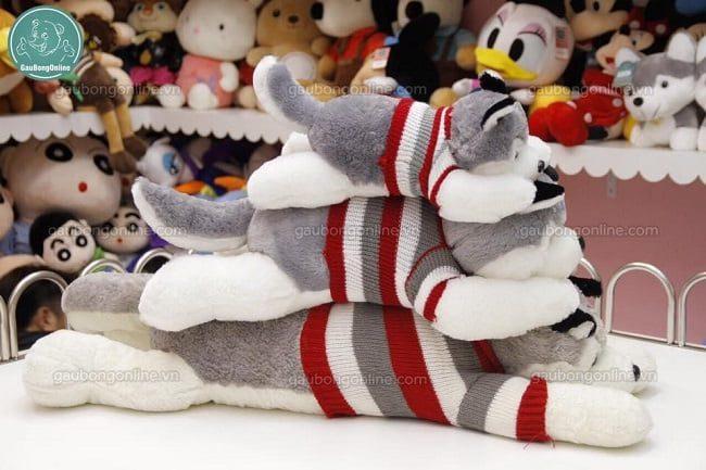 Gấu bông chó husky