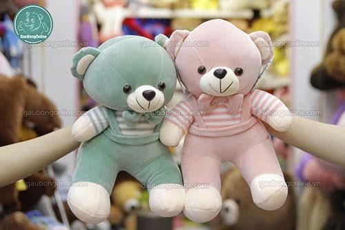 Gấu teddy yếm mềm