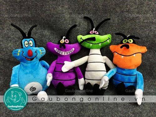 Những nhân vật hoạt hình trong phim Oggy