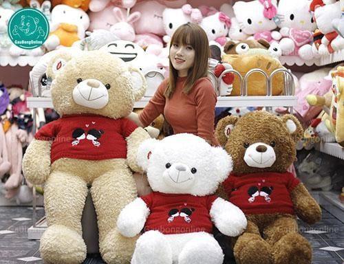 Nên chọn gấu bông tại các địa chỉ uy tín để đảm bảo chất lượng