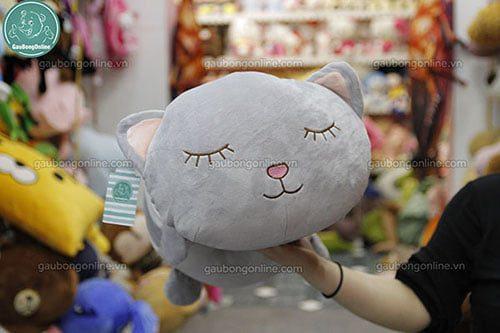 Gối Mèo Xám