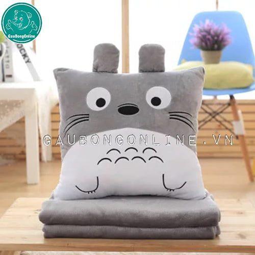 Gối Chăn Totoro Vuông
