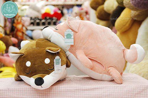 Gối Chăn Chó Akita
