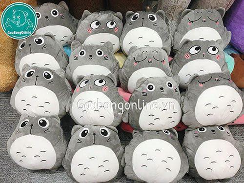Gối Chăn Totoro Mặt Biểu Cảm