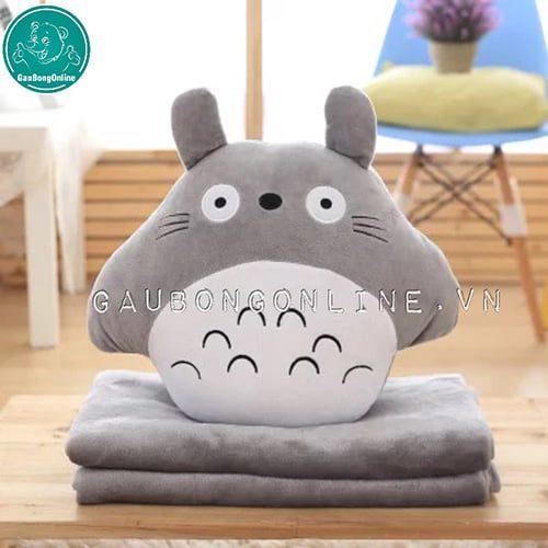 Gối Chăn Totoro Tròn