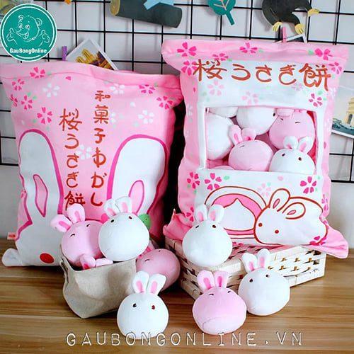 Gối Pudding Thỏ