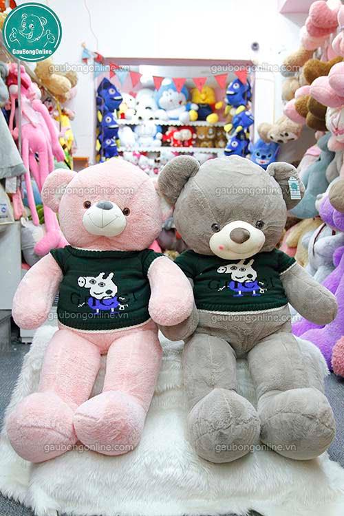 Gấu Bông Teddy Áo Gucci
