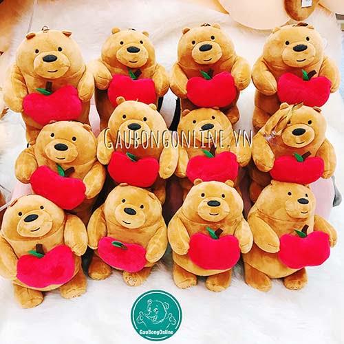 We Bare Bears Bông Ôm Quả