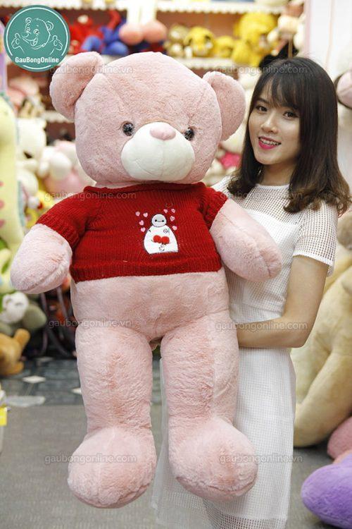 Gấu Bông Teddy Áo Baymax