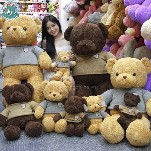 Gấu Bông Teddy Head Tales Đại