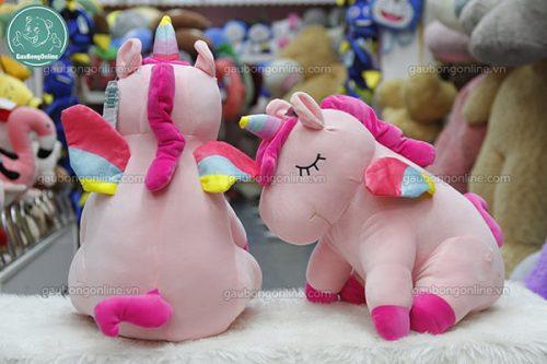 Ngựa Bông Unicorn Mềm