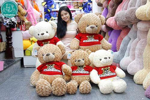 Gấu Bông Teddy Moschino
