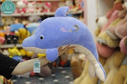 Cá heo xanh bông
