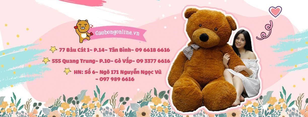 Gaubongonline.vn – địa chỉ mua gấu bông uy tín, chất lượng